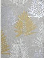 Arthouse Linen Palm Wallpaper