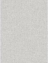 Arthouse Linen Texture Wallpaper - Grey