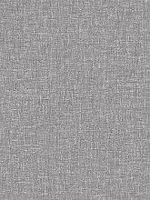 Arthouse Linen Texture Wallpaper - Mid Grey