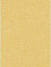 Arthouse Linen Texture Wallpaper - Ochre
