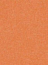 Arthouse Linen Texture Wallpaper - Vintage Orange