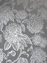 Arthouse Luxe Botanica Gunmetal And Silver