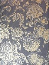 Arthouse  Luxe Botanica Navy And Gold Wallpaper