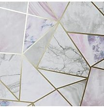 Arthouse Metallic Fragments Wallpaper