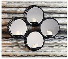 Arthouse Mirrored Candle Holder Shelf