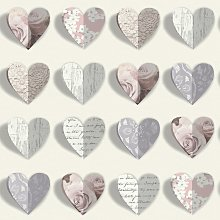 Arthouse Olivia Blush Pink Wallpaper