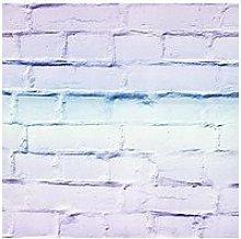 Arthouse Ombre Brick Lilac/Mint Wallpaper