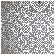 Arthouse Ornate Motif Vinyl Wallpaper