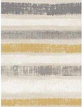 Arthouse Painted Stripe Wallpaper - Grey &Amp;