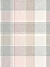 Arthouse Pink And Grey Check Wallpaper