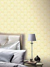 Arthouse Scandi Leaf Wallpaper &Ndash; Yellow