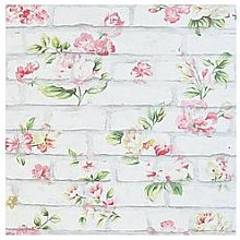 Arthouse Shabby Chic Brick Wallpaper