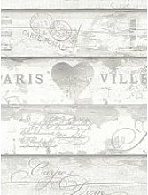 Arthouse Shabby Chic Wood Neutral Wallpaper
