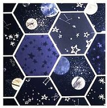 Arthouse Space Hex Multi Sw12 Wallpaper