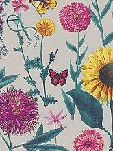 Arthouse Sunflower Grey Wallpaper
