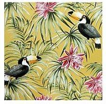 Arthouse Toucan Ochre Wallpaper