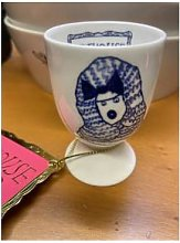 ARTHOUSE Unlimited - Blue Dog Egg Cup