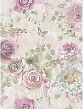 Arthouse Vintage Flower Wallpaper