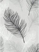 Arthouse Whisper Wallpaper - Black &Amp; White