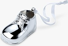 Arthur Price Baby Shoe Ornament