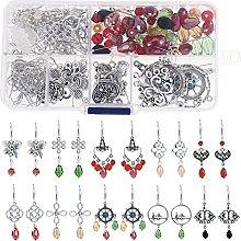 Artibetter 1 Box of Beginners Earrings Making Kit