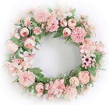Artificial Flower Wreath Door Garland DIY Wedding