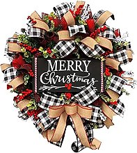 Artificial Flowers Christmas Wreaths Home