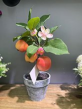 Artificial fruit plants, fake potted plants, flowers for home, party and garden decoration