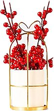 Artificial Fruit with Vase Modern Home Decor Fake