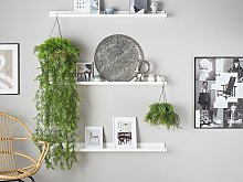 Artificial Hanging Plant Green Synthetic 48 cm
