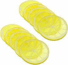 Artificial Lemon Slice Resin Mini Simulation Fruit