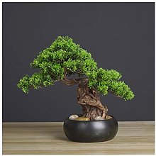 Artificial Plants Artificial Bonsai Welcoming Pine