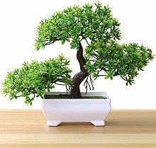 Artificial Plants Bonsai Simulation Green Plant
