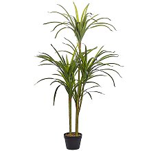 Artificial Potted Plant for Indoor Use Plastic