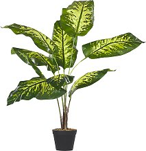 Artificial Potted Plant Indoor Plastic Decoration