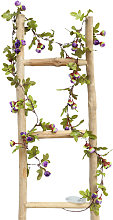 Artificial Purple Flowers Vine String Light 2.2M