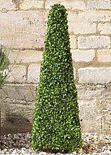 Artificial Topiary Boxwood Obelisk Tree, Stylish