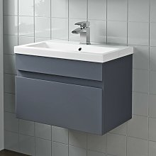 Artis - 600mm Bathroom Vanity Unit Basin Wall Hung