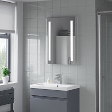 Artis Aqua LED Bathroom Mirror 700 x 500mm -