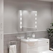 Artis Ilum LED Aluminium Mirror Cabinet with