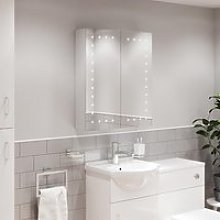 Artis Lucio LED Mirror Cabinet with Demister Pad