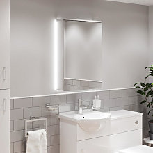 Artis Luminosa LED Aluminium Mirror Cabinet -