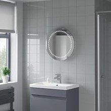 Artis Relucent LED Bathroom Mirror 500 x 500mm -