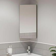 Artis - Single Door Corner Bathroom Mirror Cabinet