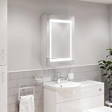 Artis Solas LED Aluminium Mirror Cabinet with