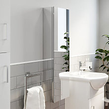 Tall Mirrored Bathroom Cabinet Shop Online And Save Up To 44 Uk Lionshome