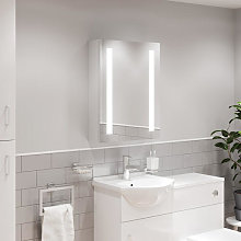 Artis Valo LED Aluminium Mirror Cabinet with