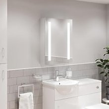 Artis Valo LED Mirror Cabinet with Demister Pad
