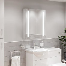 Artis Vivo LED Aluminium Mirror Cabinet with