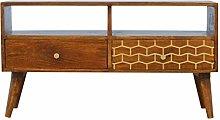 Artisan Furniture Cabinet, Mango wood, Chestnut,